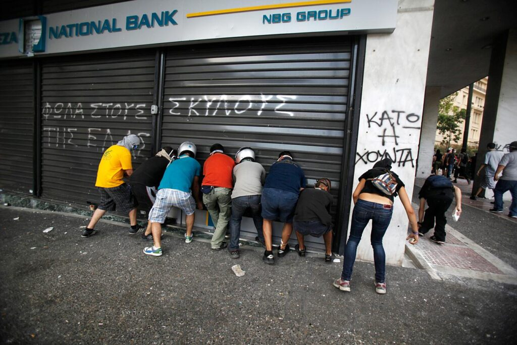 Bank-run-Greece