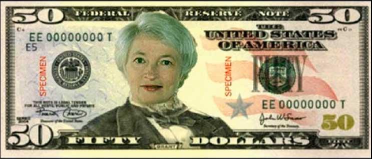 Yellen-on-the-50-dollar-bill-cartoon